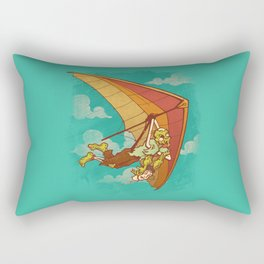 Death From Above Rectangular Pillow