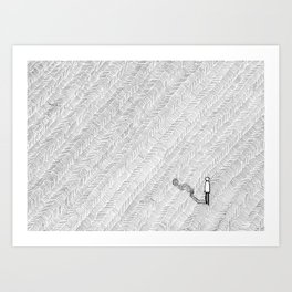 Several Odd Steps Art Print