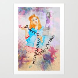 """the call"" Art Print"
