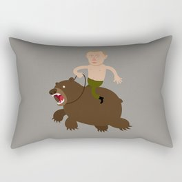 Putin Rider Rectangular Pillow
