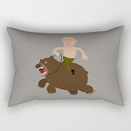 Putin Rider Rectangular Pillow