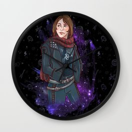 Jyn Erso Wall Clock