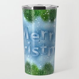 Christmas card Travel Mug