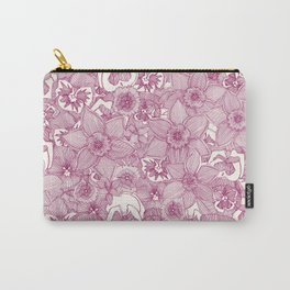 springtime flowers cherry Carry-All Pouch