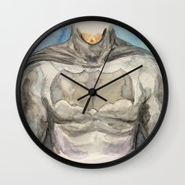 The Bat Man - Fictional Superhero Wall Clock