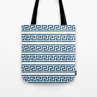 greek Tote Bags featuring Greek II by Mr and Mrs Quirynen