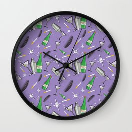 Moxie Pattern Wall Clock