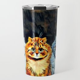 "Louis Wain's Cats ""Five Cats"" Travel Mug"
