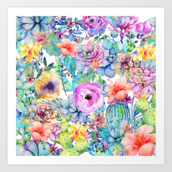 spring blossom i Art Print