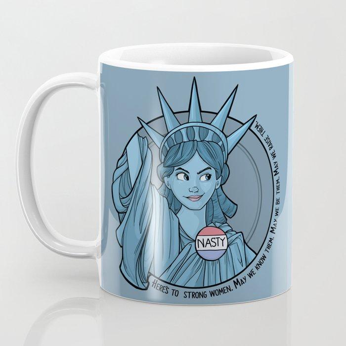 Nasty Lady Liberty Coffee Mug