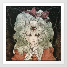 Third Eye Alice Art Print