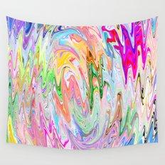 Finger Tornado Wall Tapestry