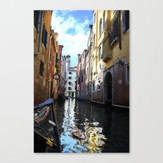Painted Water Canvas Print