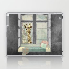 Bay Window Giraffe Laptop & iPad Skin