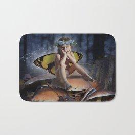 Mad Mushroom Fairy Bath Mat