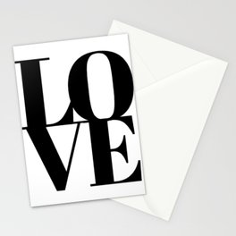 L.O.V.E. - Love Stationery Cards