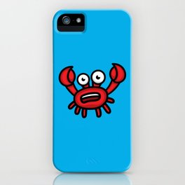Crab Luigi iPhone Case