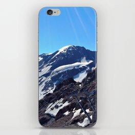 glacier end 3 kaunertal alps tyrol austria europe iPhone Skin