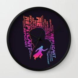 Blade Runner Replicants Wall Clock