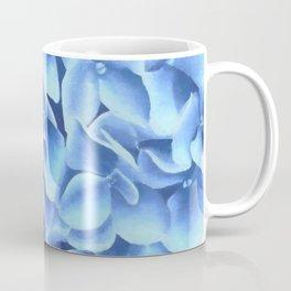 Hydrangea, Big blue flower Coffee Mug