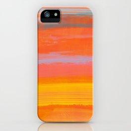 paint stripes three iPhone Case