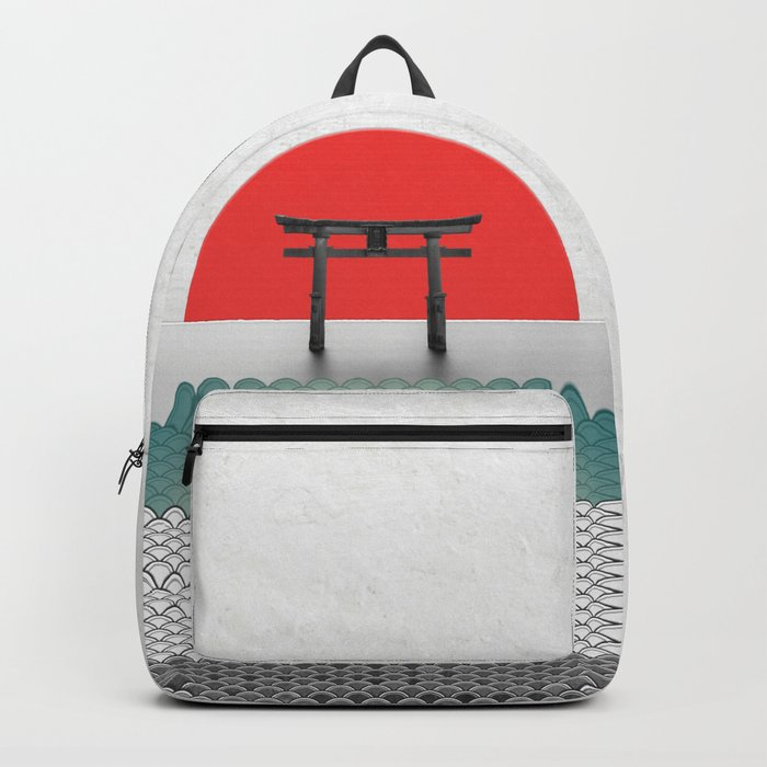 The Red Sun Backpack
