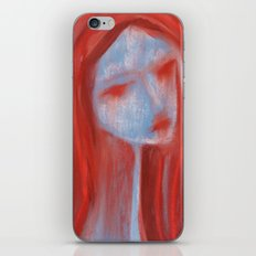 Chalk Face iPhone & iPod Skin