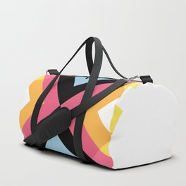 Abstract Retro Pattern 05 Duffle Bag