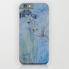 Spirit Horses iPhone Case