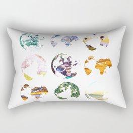 Globes Rectangular Pillow