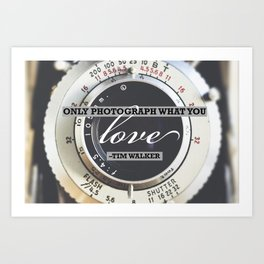 Inspirational Photography Quote Art Print