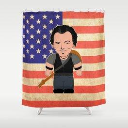The Boss Shower Curtain