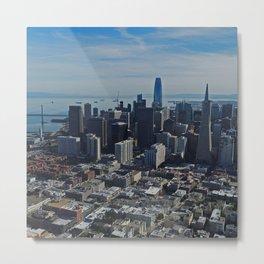 San Francisco Downtown Metal Print