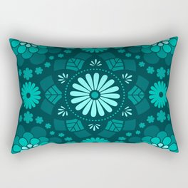 Lord Ethel in blue Rectangular Pillow