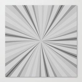 white rays Canvas Print