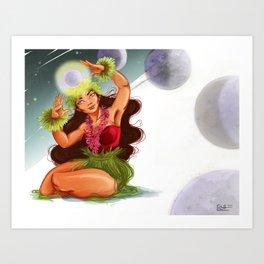 Hina Art Print