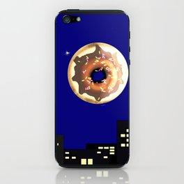 Dunk the Moon iPhone Skin