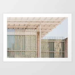 All in Shades of White -  Chicago Architecture Photography Art Print