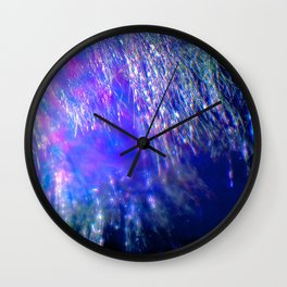 Under the Shimmering Branches Wall Clock