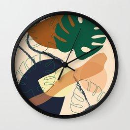 Autumn Leaves V1 Wall Clock