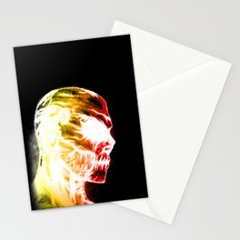 Azael Red's Skull Stationery Cards