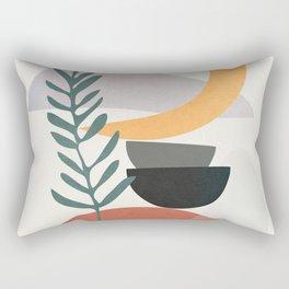 Abstract Shapes No.25 Rectangular Pillow