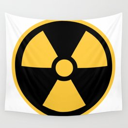 Nuclear Logo Symbol Wall Tapestry