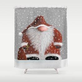 Little Santa Shower Curtain