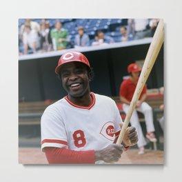Sports - Joe Morgan - Art - American - Professional Baseball Player - T3 Metal Print