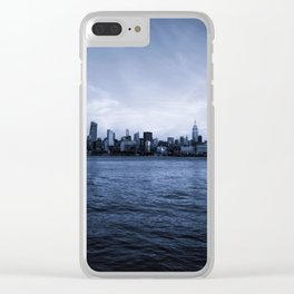 City Skyline Clear iPhone Case