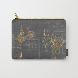 Queen Street West At Night Carry-All Pouch