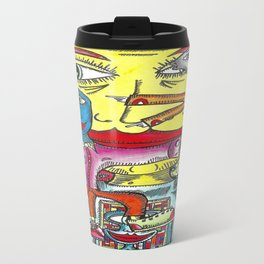 Viggo Vake  Mirror People 2016 Travel Mug