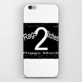 Riggo Monti Design #19 - Rags 2 Riches iPhone Skin