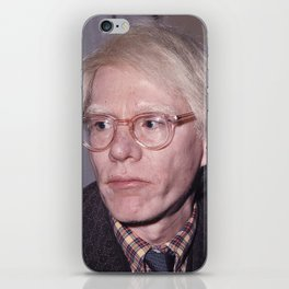 ANDY WAR HOL - 1970s iPhone Skin
